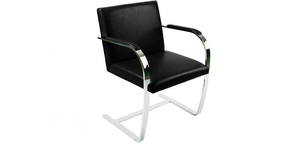 Chair Brno style Ludwig Mies van der Rohe - Premium Leather