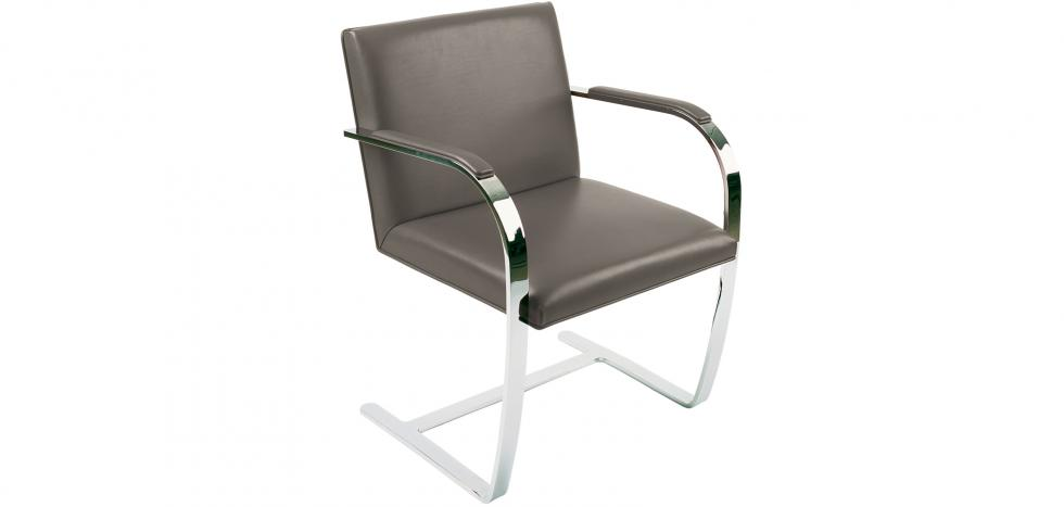 Chair Brno style Ludwig Mies van der Rohe - Classic Leather