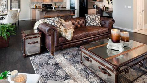 Salon Avec Canap Chesterfield Inspiration Du Blog