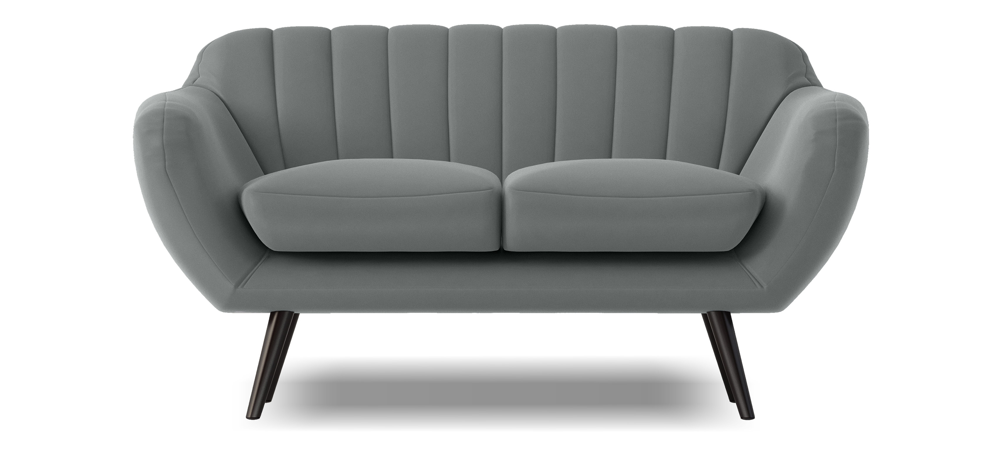 Scandinavian Style 2 Seater Sofa Fred 2 Seat Sofas