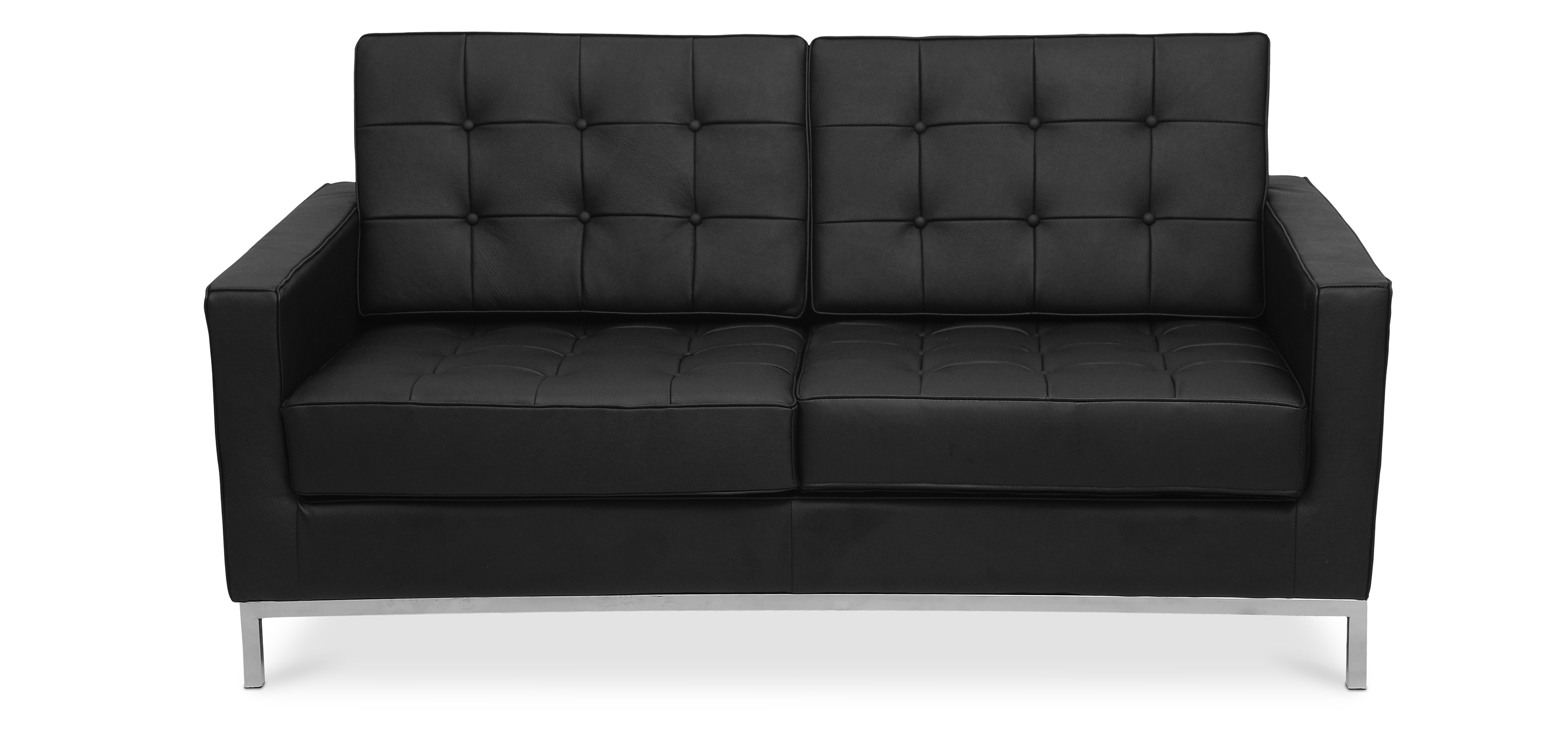 Canap 2 places style florence knoll cuir premium pas cher - Florence knoll canape ...