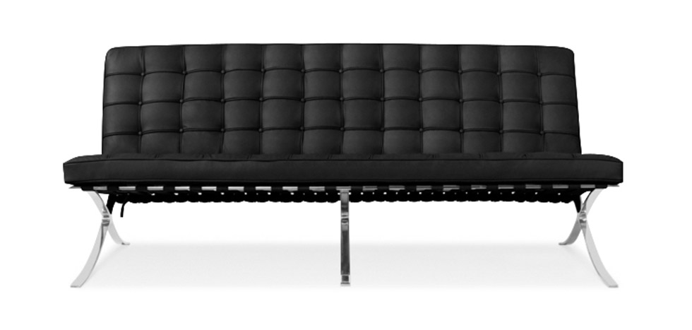 Canap design barcelona inspiration mies van der rohe for Canape barcelona