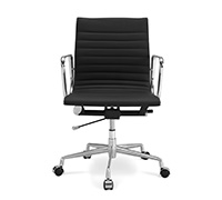 Office Chair - T17  - Faux Leather - Wheels