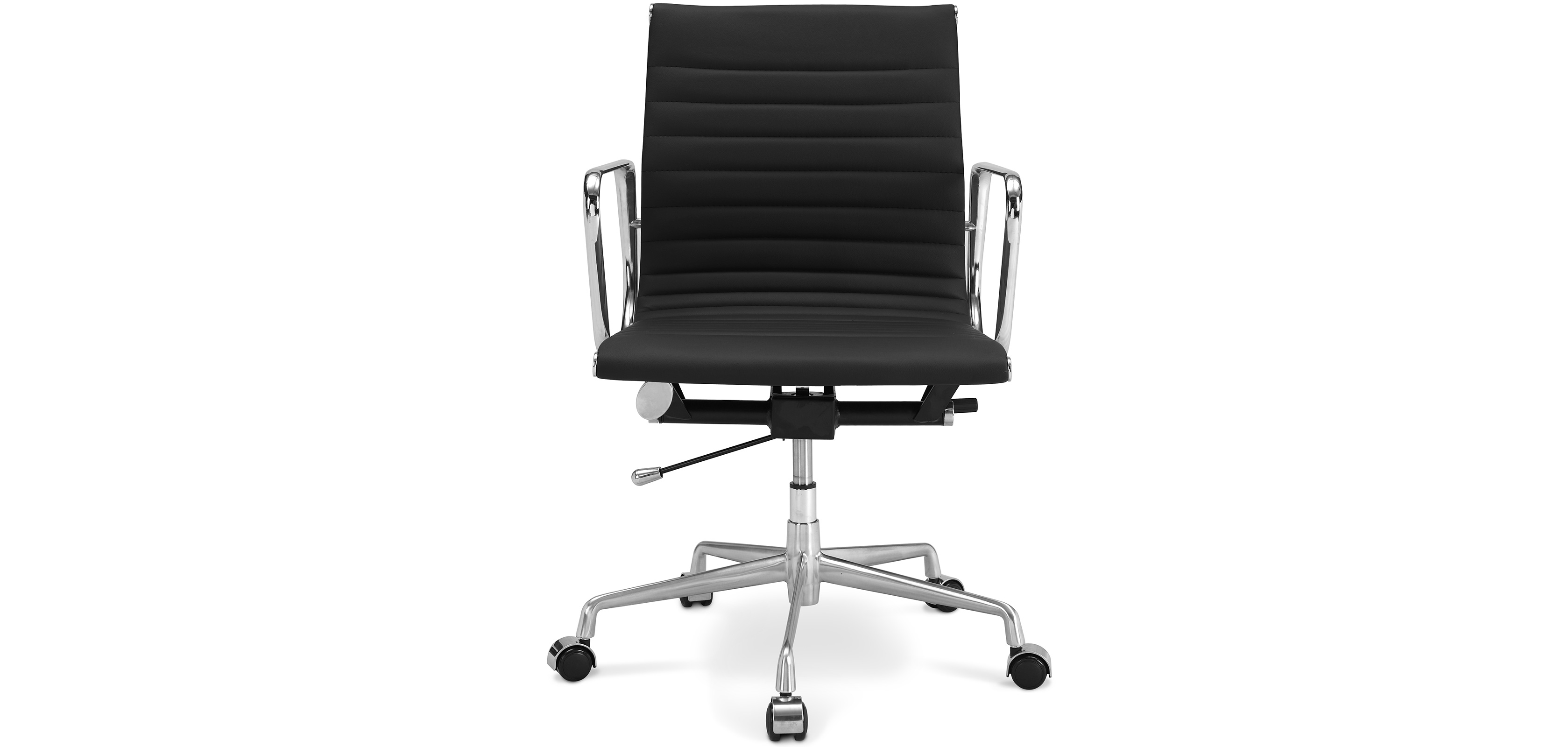 Office chair t17 premium leather wheels desk chairs - Chaise bureau architecte ...