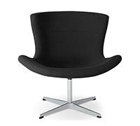 Jet Lounge Chair - Flemming Busk & Stephan Hertzog - Fabric