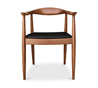 The Chair Scandinavian design chair- Hans J. Wegner style - Fabric