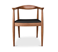 The Chair scandinavian style chair - Hans J. Wegner style - Faux Leather