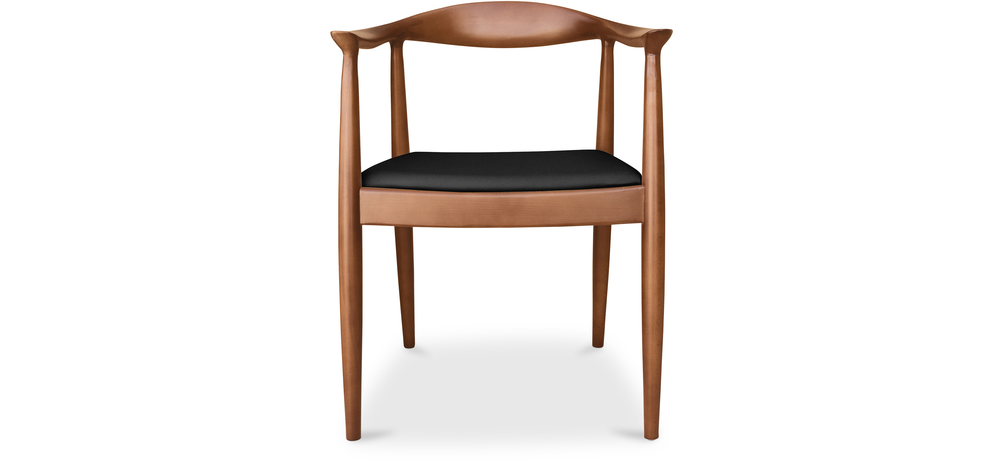 The chair scandinavian style chair hans j wegner style faux leather living room chairs - Hans wegner style chair ...