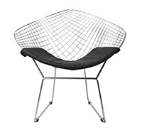 Diamond Stuhl - Harry Bertoia style