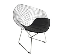 Chaise diamond style harry bertoia pas cher for Bertoia chaise prix