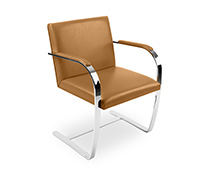 Chaise Brno - Inspiration Ludwig Mies van der Rohe - Cuir Premium