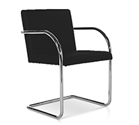 MVR3 Office Chair - Ludwig Mies van der Rohe style - Fabric
