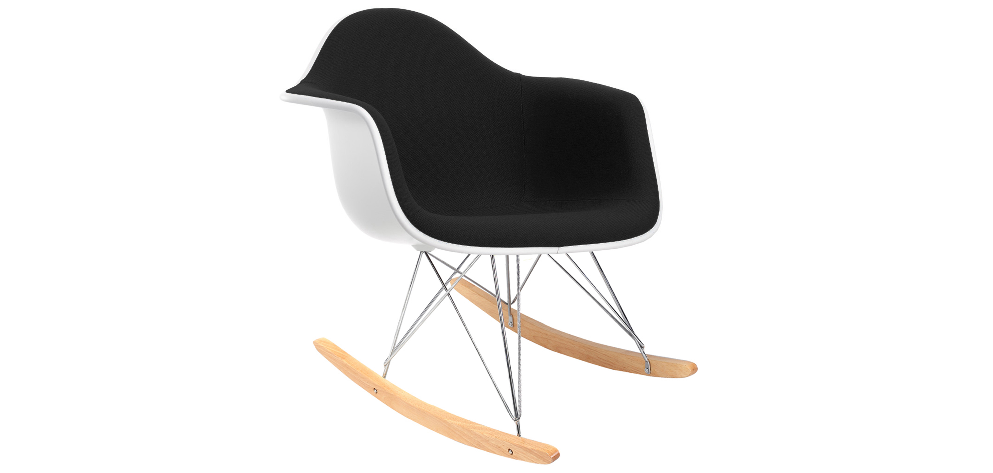 Rocking chair d 39 occasion pas cher almirah beds wardrobes a - Chaise eames a bascule ...