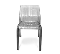 Frilly design dining Chair Patricia Urquiola inspiration
