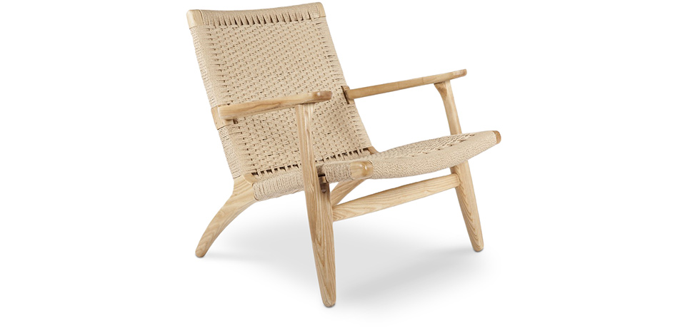CH25 Chair Hans Wegner Style Wood Living Room Chairs