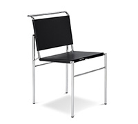 Roquebrune design Seat - Eileen Gray style - Faux Leather