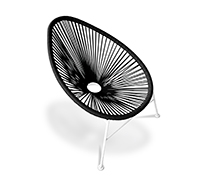 Acapulco Chair - White Legs