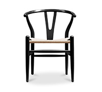 Wishbone desing chair CH24 Wegner style - Natural Seat