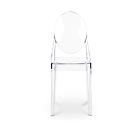 Victoria Ghost Chair Philippe S. Style - Set of 4