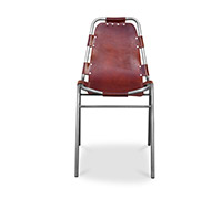 Vintage Industrial Design Chair - Steel and Premium Leather
