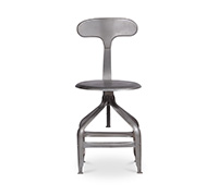 Industrial Design Chair - Metal