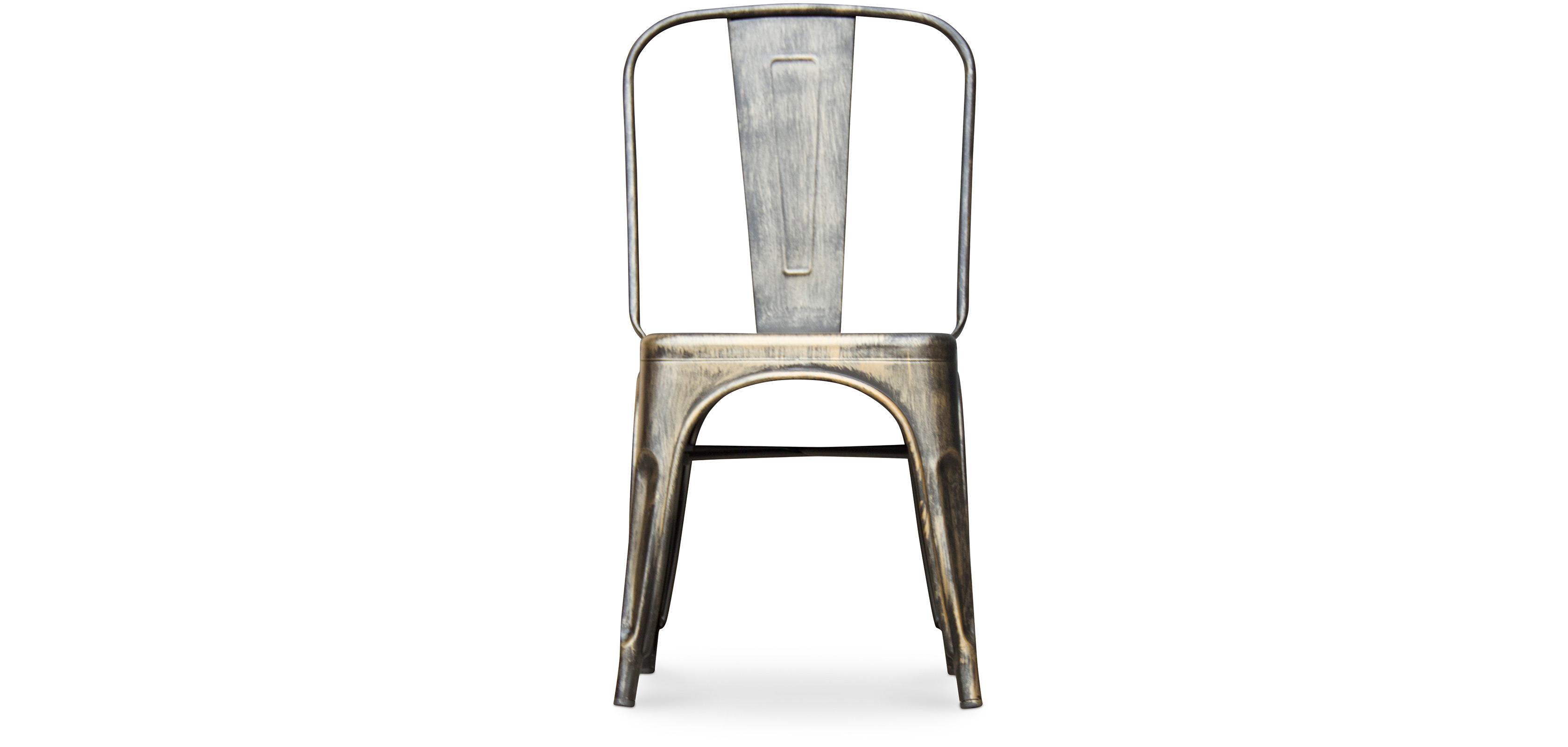 Tolix chair square seat xavier pauchard style metal Chaise imitation tolix