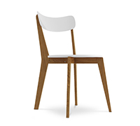 Chaise Elvi Design scandinave - Bois