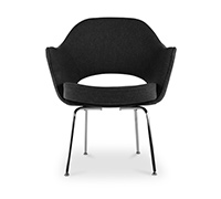 Executive Chair Eero Saarinen style - Fabric