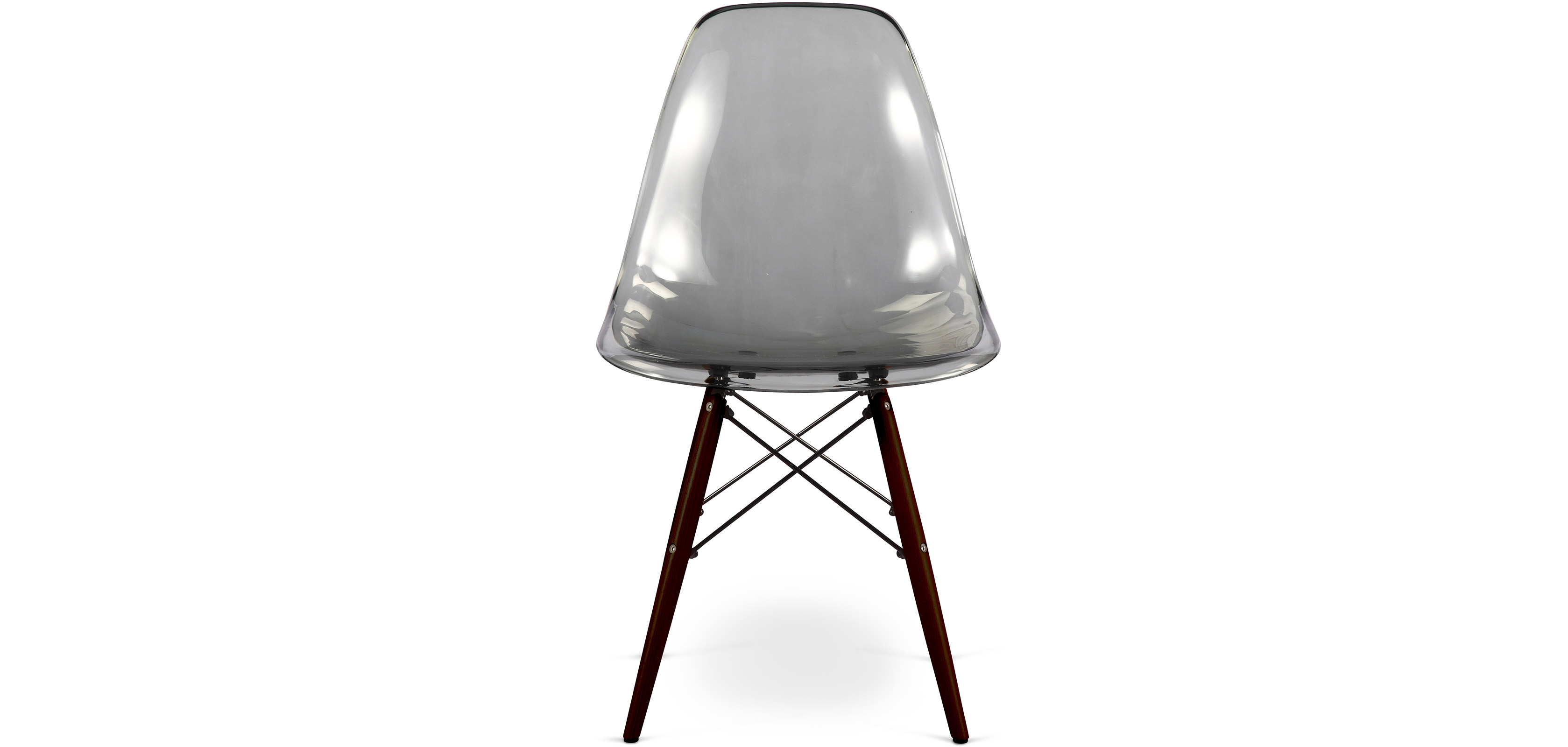 Dark legs Geneva Chair Polycarbonate Dining chairs