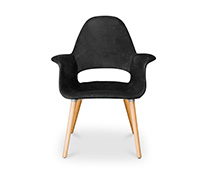 Organic Scandinavian design Chair Eero Saarinen style - Fabric