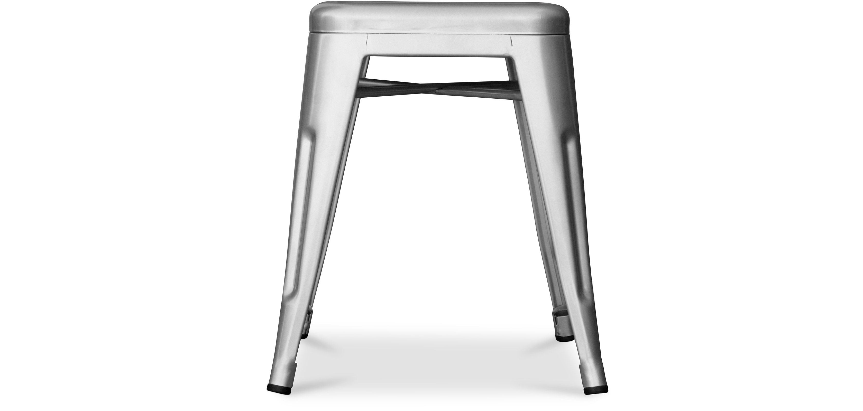 tolix stool 45cm xavier pauchard style metal stools. Black Bedroom Furniture Sets. Home Design Ideas