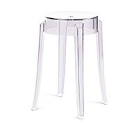Tabouret Charles Ghost Philippe S. Style - 47cm