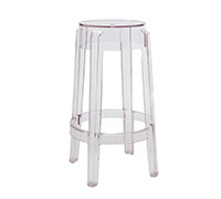Tabouret de bar Charles Ghost Philippe S. Style - 65cm
