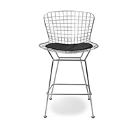 Wire Bar Stool Harry Bertoia style - 65cm