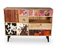 Buffet design vintage Cow Mady