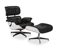 Chaise Lounge Aviateur - Style Charles Eames