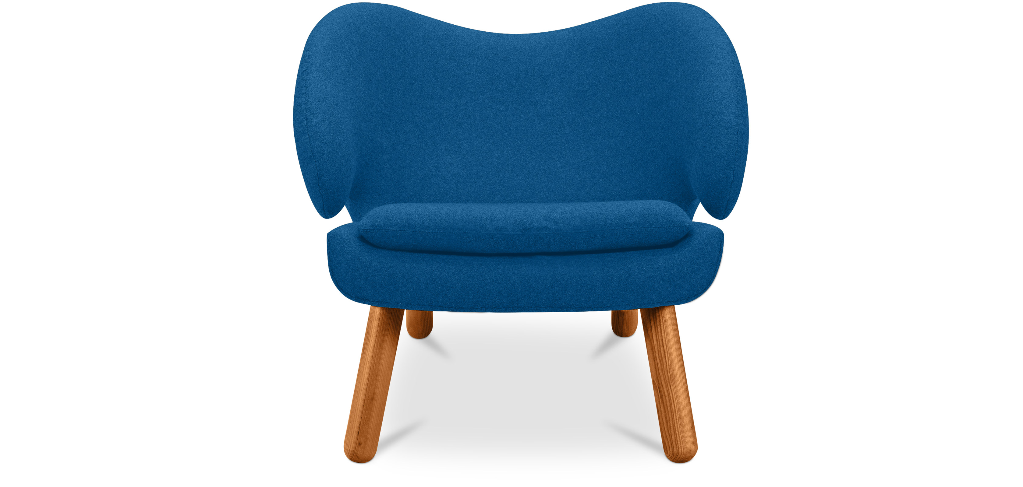 Fauteuil de salon p lican design scandinave style finn - Fauteuil de salon but ...