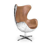 Fauteuil Cocoon Aviator - Cuir Premium
