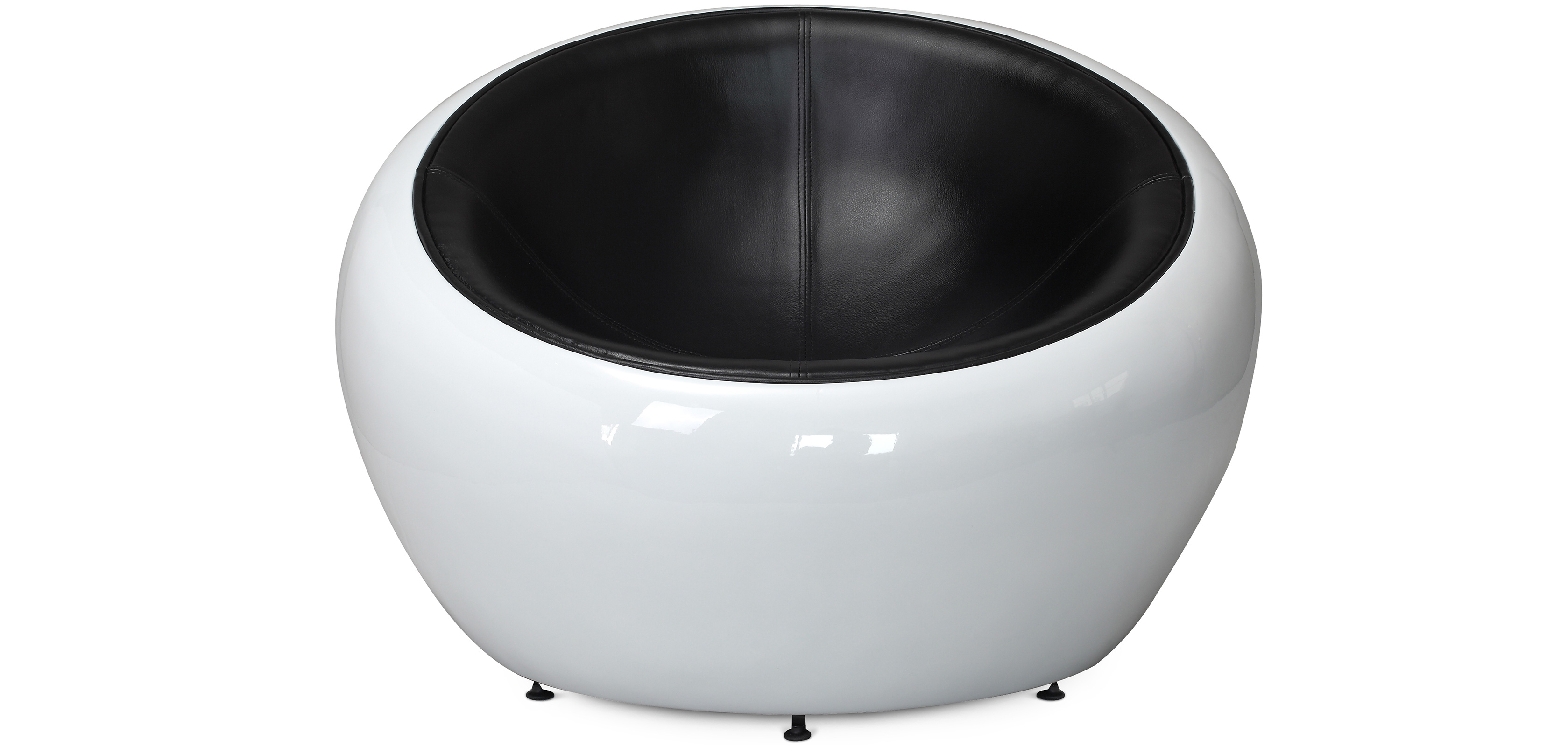 fauteuil egg pod ball chair style eero aarnio simili cuir pas cher. Black Bedroom Furniture Sets. Home Design Ideas
