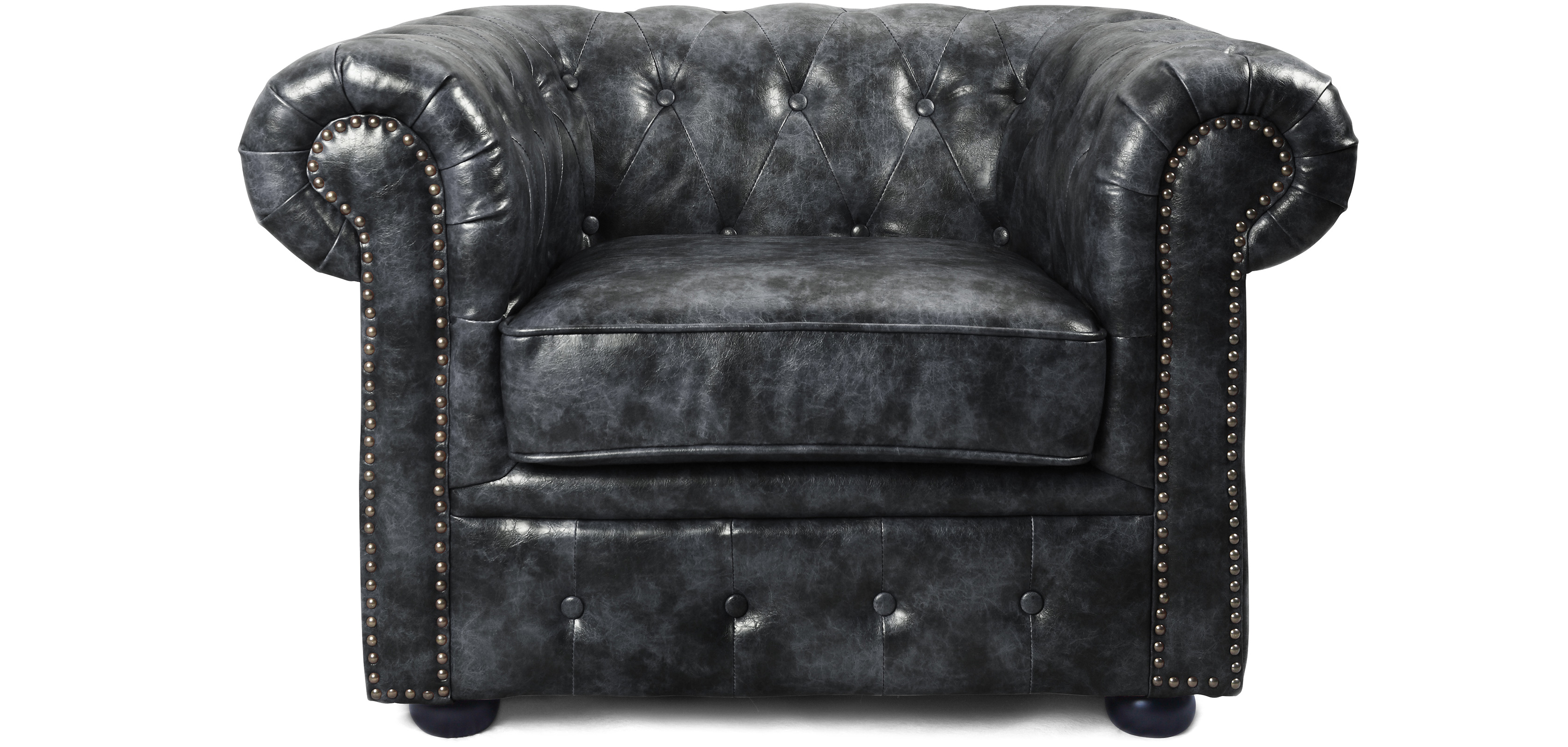 fauteuil chesterfield vintage cuir premium pas cher. Black Bedroom Furniture Sets. Home Design Ideas