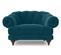 Fauteuil style Chesterfield - Nolan