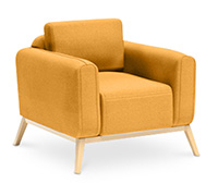 Fauteuil style scandinave - Kevian