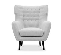 Fauteuil style scandinave - Thor