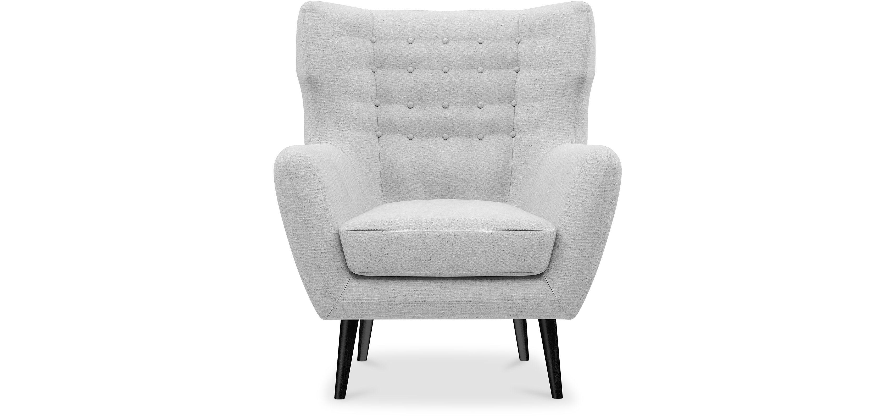 Fauteuil style scandinave Thor pas cher