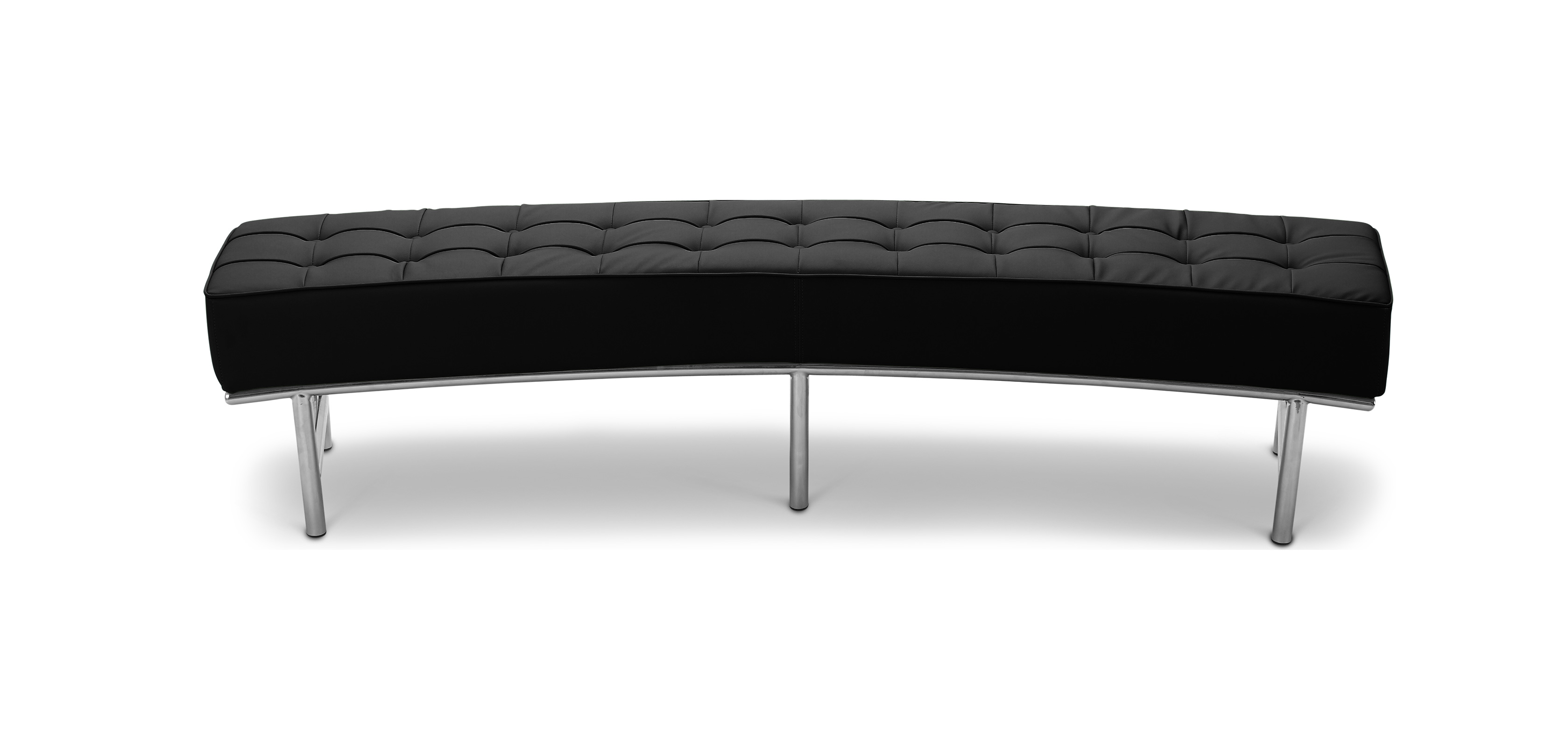 monte carlo sofa bench eileen gray style faux leather benches. Black Bedroom Furniture Sets. Home Design Ideas