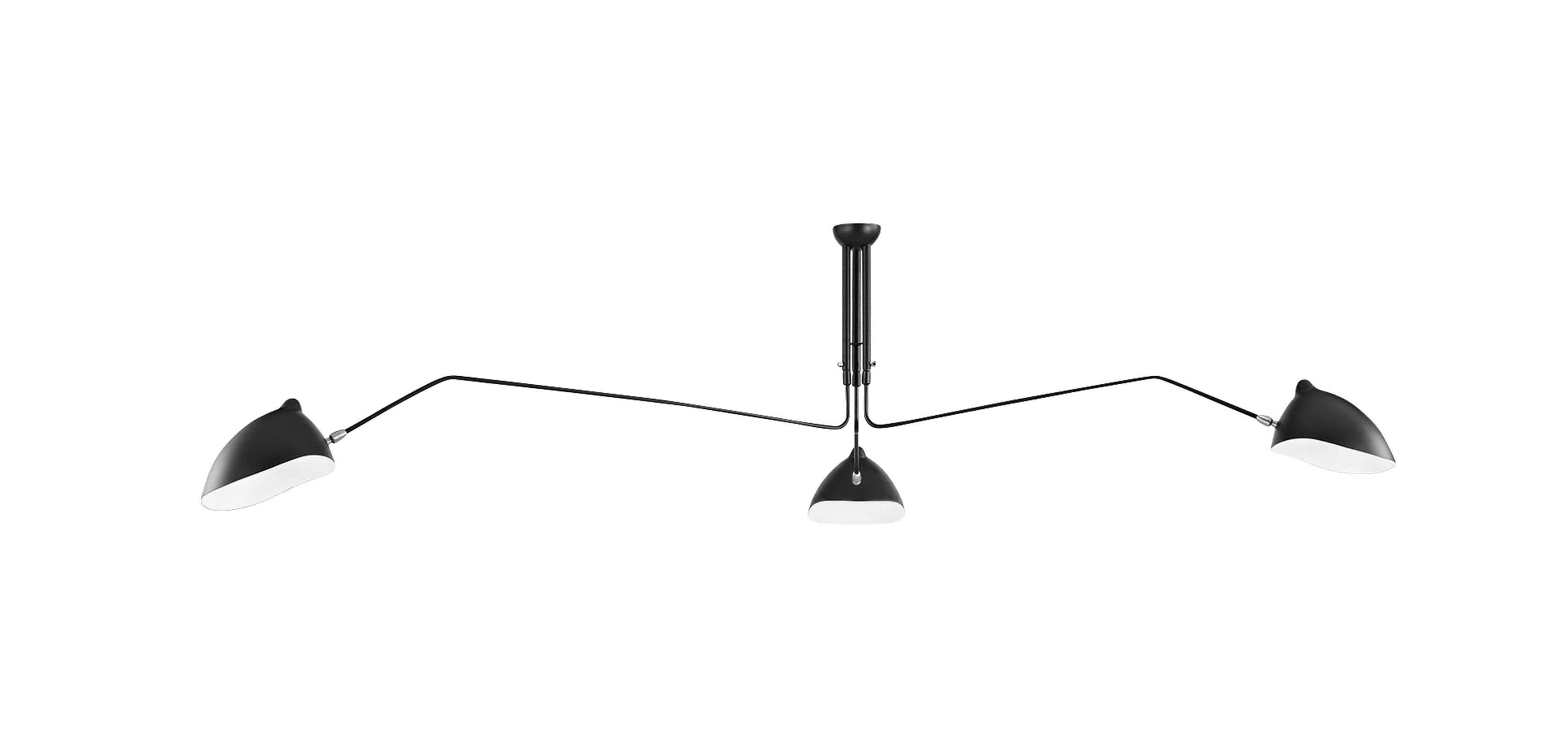 Design Serge Mouille mcl r1 pendant lamp serge mouille style suspensions lampe suspension style