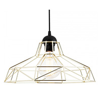 Lampe suspension Edison Retro