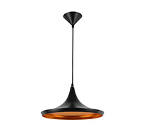 Lampe suspension Beat Shade Wide Thomas Doyle Style - Aluminium