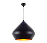 Lampe suspension Beat Shade Stout/50 Tom Doyle Style - Aluminium