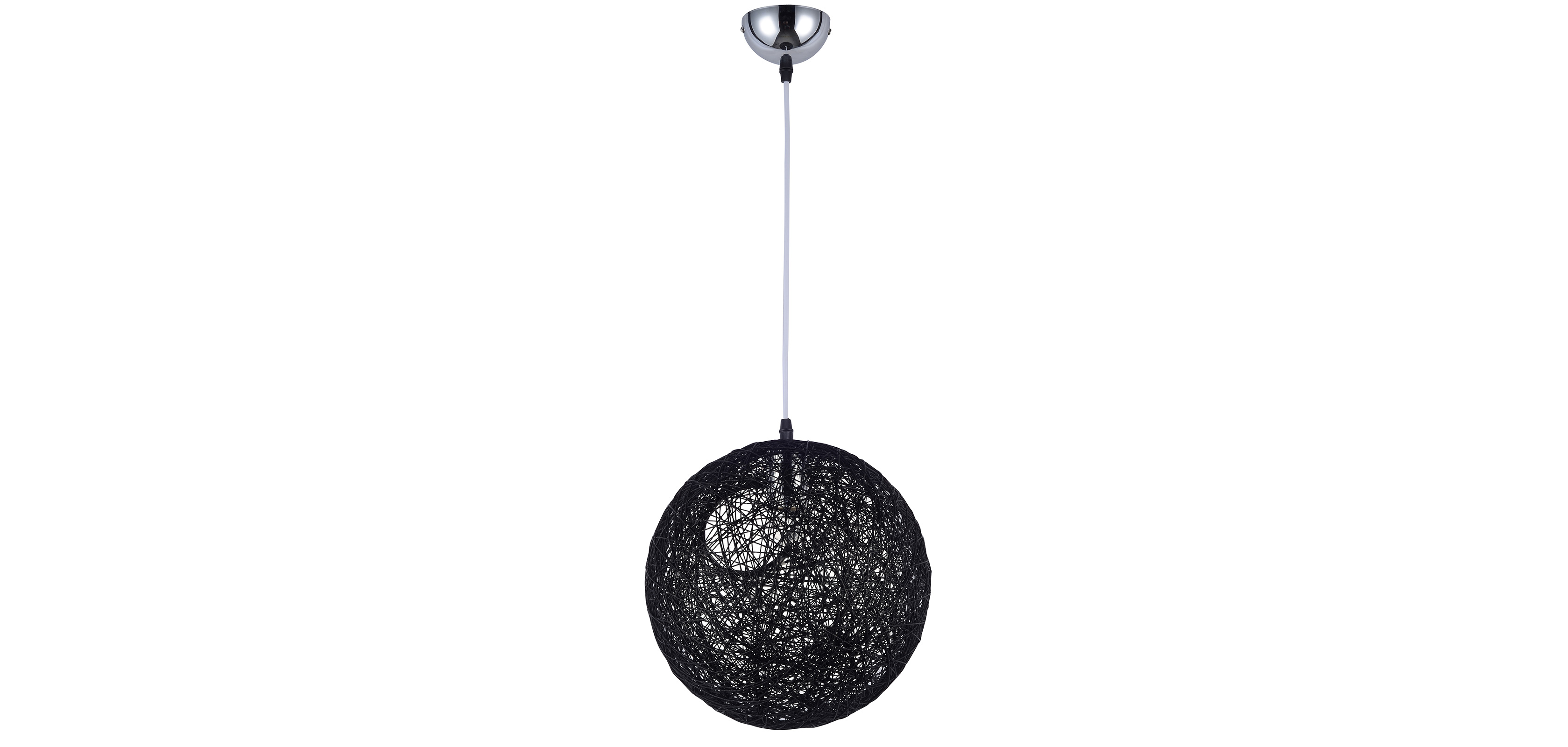 Lampe suspension boule al atoire 30 corde style pot bertjan pas cher - Lampe suspension boule ...